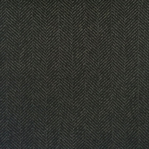 Dark Grey Herringbone Country Tweed Jacketing
