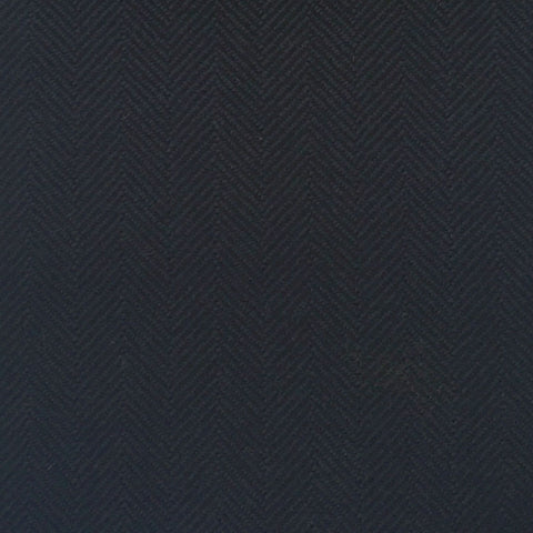 Dark Navy Herringbone Country Tweed Jacketing