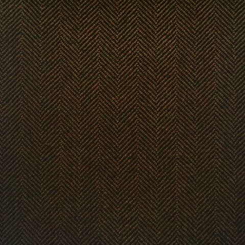 Brown Herringbone Country Tweed Jacketing