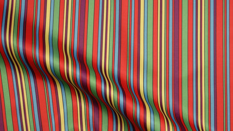 Multi Colour Stripe Lining