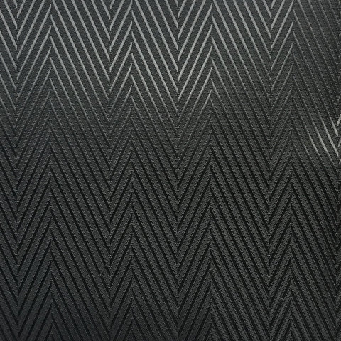Black & Grey Herringbone Lining