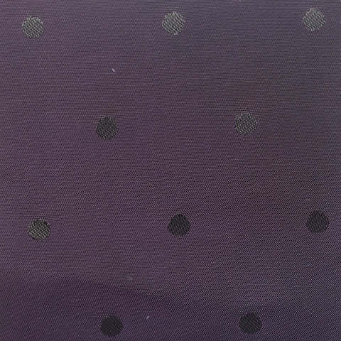 Purple Polka Dot Lining