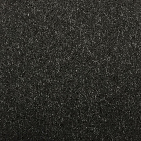 Charcoal Grey Plain Coating All Wool