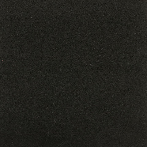 Black Coating Wool Cashmere Nylon