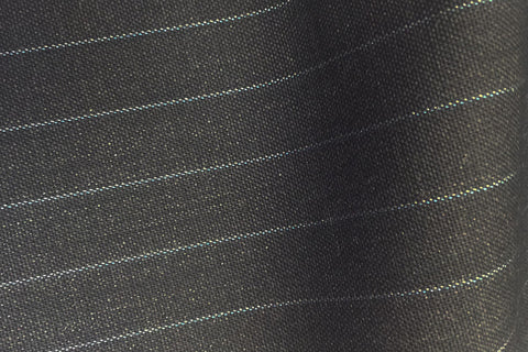 Charcoal Grey With Sky Pin Stripe