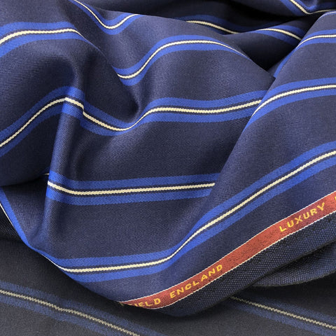 Navy With Blue/White Stripe 1 1/4'' Jacketing