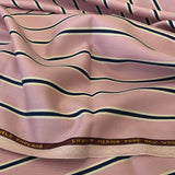 Pink With White/Navy Stripe 1 1/4'' Jacketing