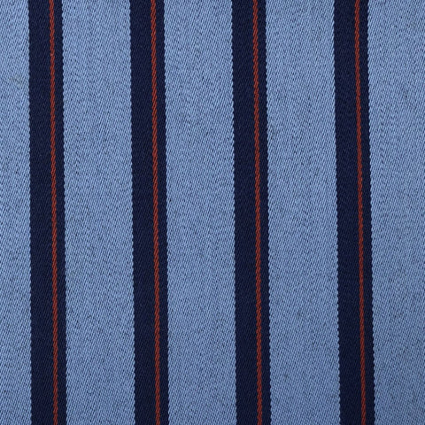 Light Blue With Navy/Red Stripe 1'' Jacketing