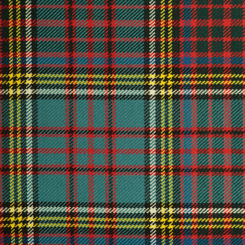 Aud Lang Sang Medium Caledonian Tartan Check 100% Wool