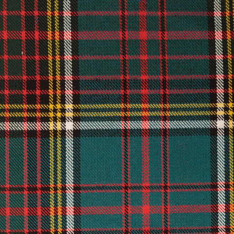 Black Watch Tharthan Tartan Check 65% Poly 35% Visc