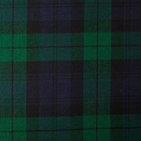 Black Watch (B) Alba Tartan Check 100% Wool