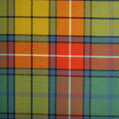 Buchanan Caledonian Tartan Check 100% Wool