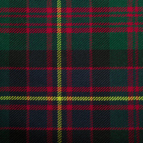 Cameron Of Erracht Medium Caledonian Tartan Check 100% Wool