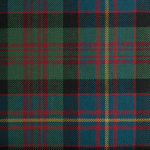 Cameron Of Erracht Dark Caledonian Tartan Check 100% Wool
