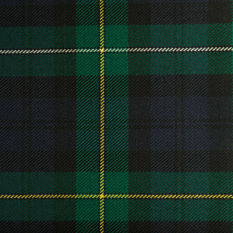Campbell Of Louden Dark Caledonian Tartan Check 100% Wool