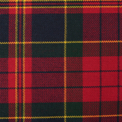 Cranford Red Tharthan Tartan Check 65% Poly 35% Visc