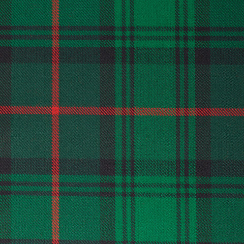 Green Red Tharthan Tartan Check 65% Poly 35% Visc