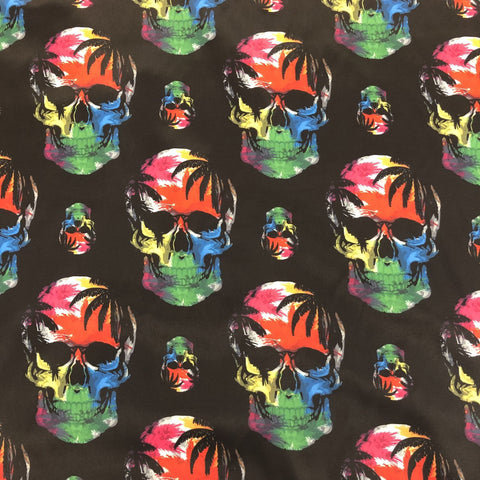 Multi Colour Skull Lining