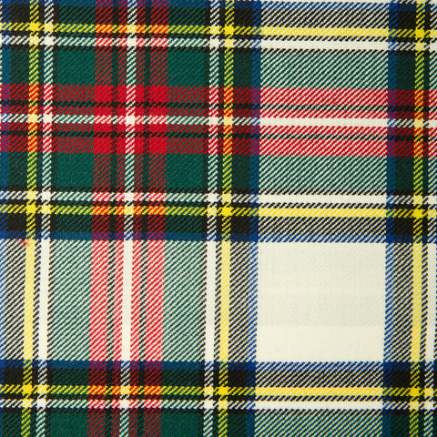 Stewart Dress Medium (G) Alba Tartan Check 100% Wool