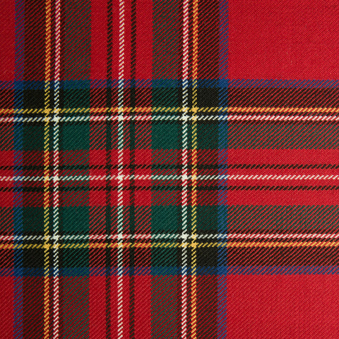Stewart Royal (G) Alba Tartan Check 100% Wool