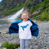 Juneau Whale Tee - Youth