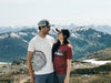 Denali Mountain National Park T-Shirt and Tree ring, mountain couple