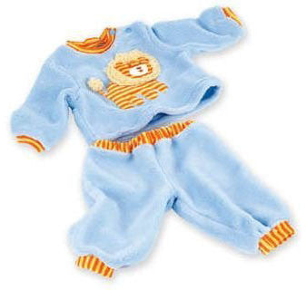 Middleton Doll 02581 Little Lion Pajamas for 19-20 Babies