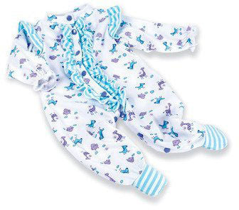 Madame Alexander 02582 Furry Friends Pajamas for 19-20 Babies