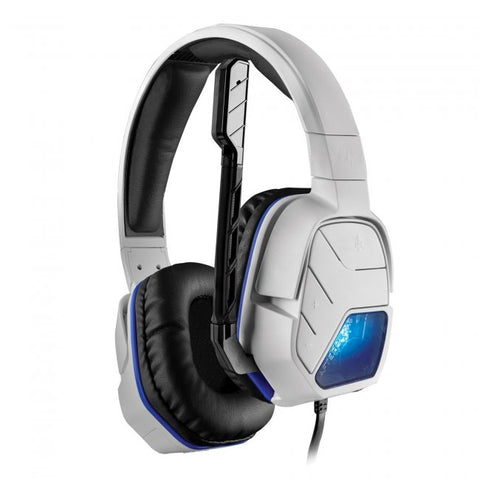 PS4 Afterglow LVL5+ White Wired Headset (051-033-NA-WH-X)