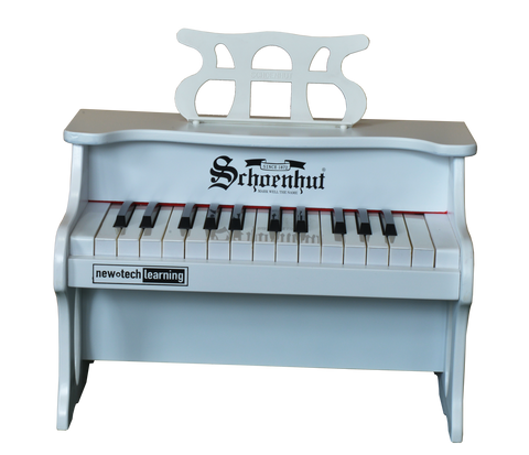 Schoenhut 2517W 25 Key Digital Table Top Piano White