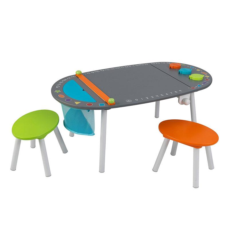 Chalkboard Art Table with Stools - Default