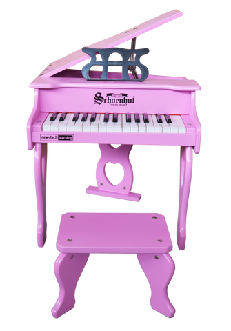 Schoenhut 3017P 30 Key Digital Baby Grand Piano Pink