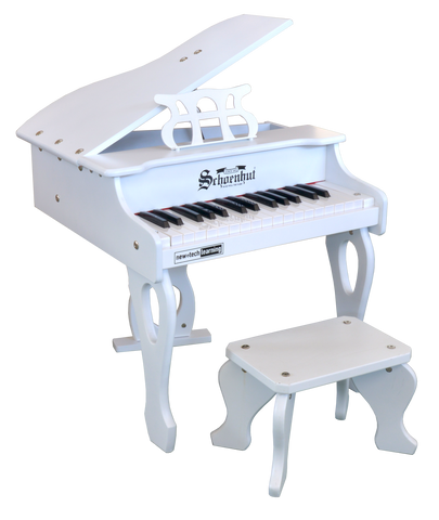 Schoenhut 3017W 30 key Digital Baby Grand Piano White