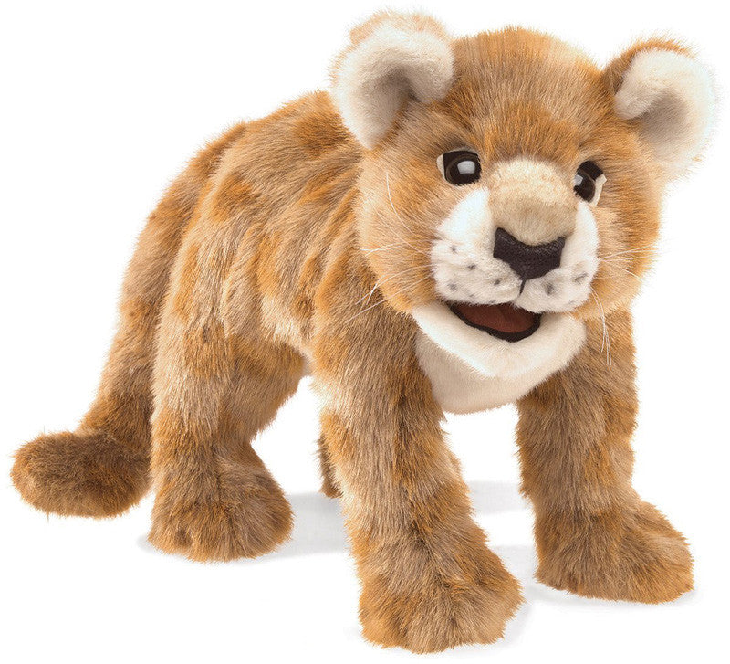 Folkmanis 3064 African Lion Cub, Hand Puppet