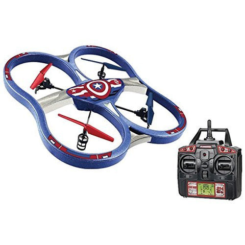 Marvel 4.5CH Gyro 2.4Ghz Captain America SPY Drone UFO RC Quadcopter