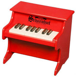 Schoenhut 18 Key My First Piano - Red 1822R - Peazz Toys