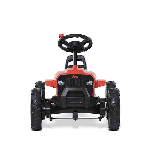 Berg 24-30-13-00 Jeep Buzzy Rubicon Pedal Go Kart Red/Black