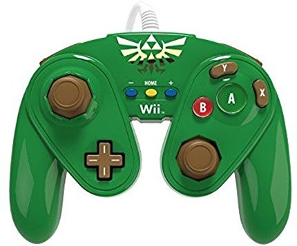 Wii U Fight Pad Wired Controller Link (085-006-LK)