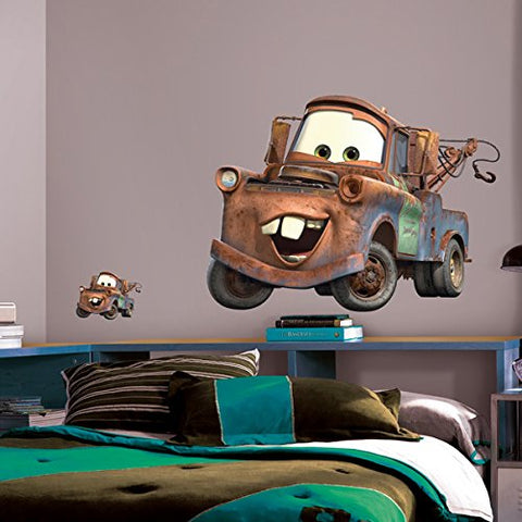 Cars - Mater Peel & Stick Giant Wall Decal (RMK1519GM)