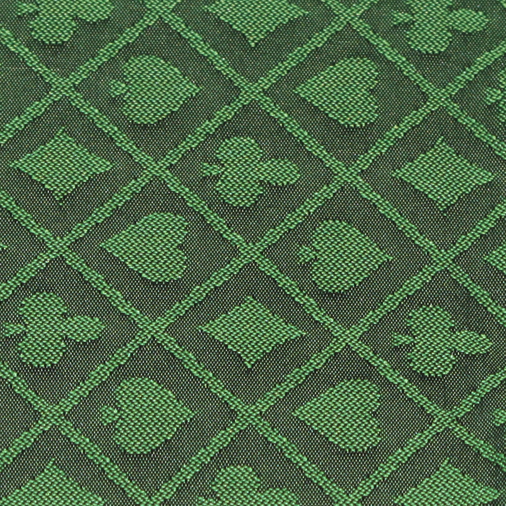 Brybelly Gclo-403 1 Ft Section Of Green Two-tone Poker Table Speed Cloth