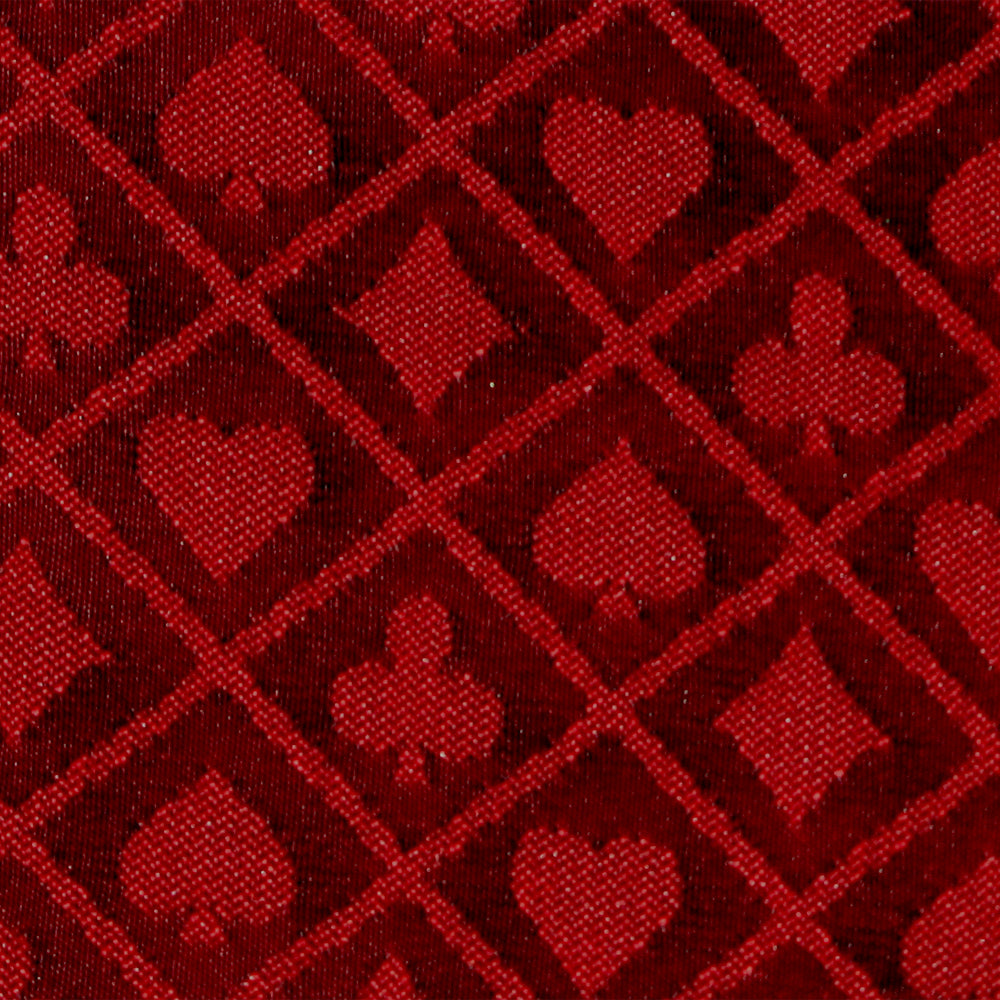 Brybelly Gclo-402 1 Ft Section Of Red Two-tone Poker Table Speed Cloth