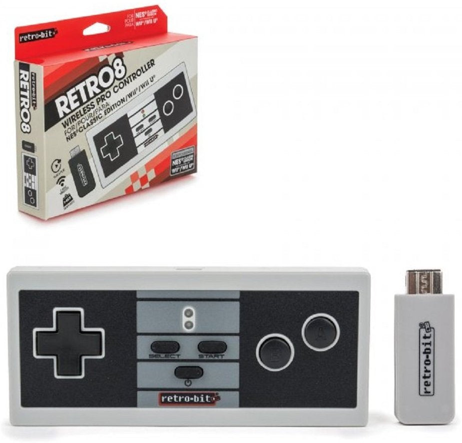 NES Wireless Pro Controller - Classic Color (RB-NES-7154)