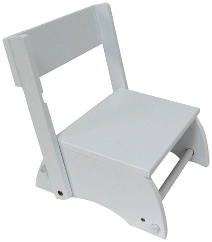 Teamson W-6125C Teamson Kids - Windsor Step Stool - White