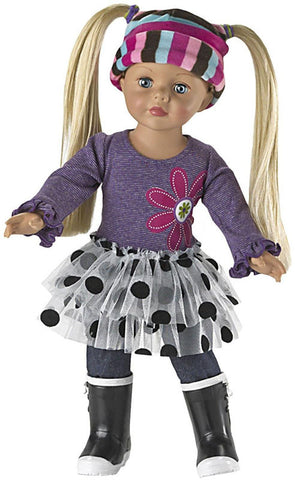Madame Alexander Play Day Dressing Doll - Peazz Toys