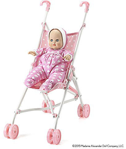 Madame Alexander Baby Goes for a Ride Stroller and Doll - Peazz Toys
