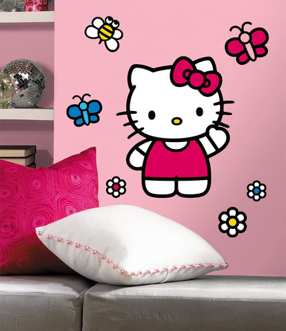 Hello Kitty - The World of Hello Kitty Peel & Stick Giant Wall Decals (RMK1679GM)