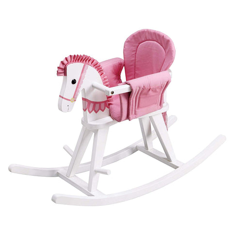 Teamson TD-0003A Teamson Kids - Zoo Kingdom Pony Rocking Horse - Pink