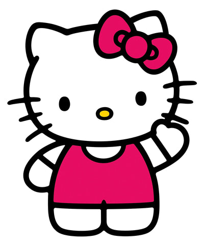 Hello Kitty - The World of Hello Kitty Peel & Stick Giant Wall Decals (RMK1679GM) - Peazz Toys