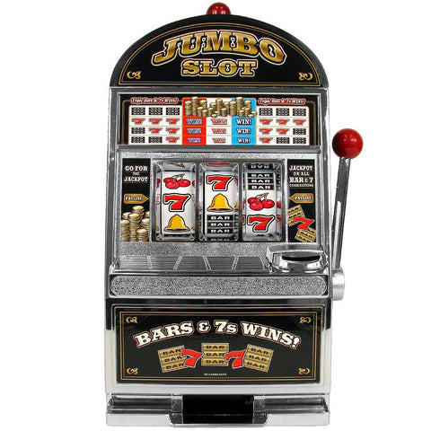 Jumbo Slot Machine Bank - Replication - Peazz.com