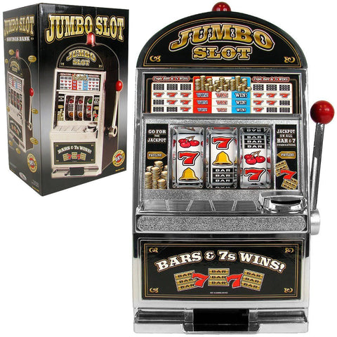 Jumbo Slot Machine Bank - Replication